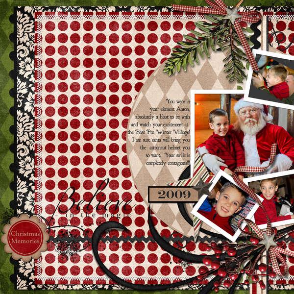 Aaron & Santa