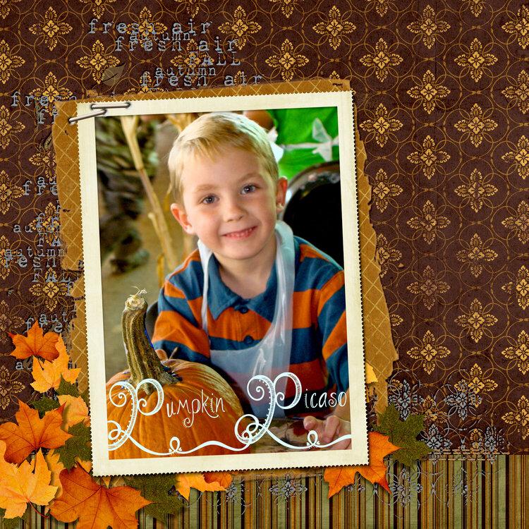 Pumpkin Picaso