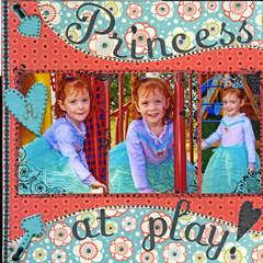 Princess at play