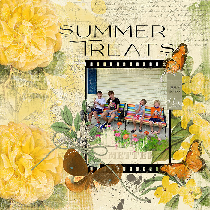 Summer Treats: Freebie for Template Chat