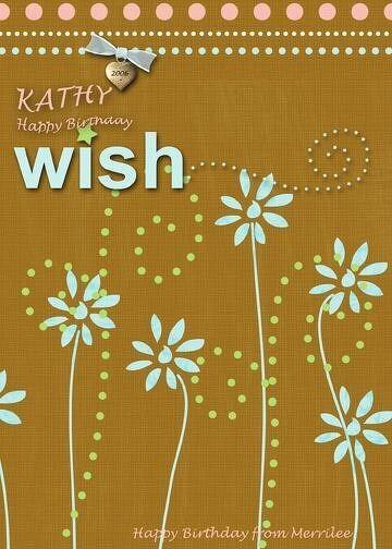 Wishes for Kathy W.