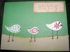 Bird/Housewarming Card