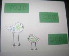 Inside--Bird/Housewarming Card