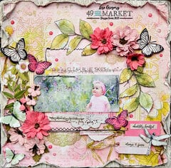 49 and Market Vintage Artistry in Blush