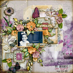 "49 and Market Vintage Artistry Lilac ""Sunshine"""