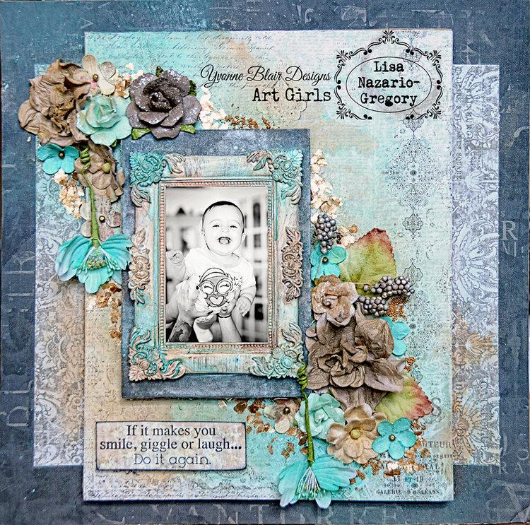 Art Girls DT layout