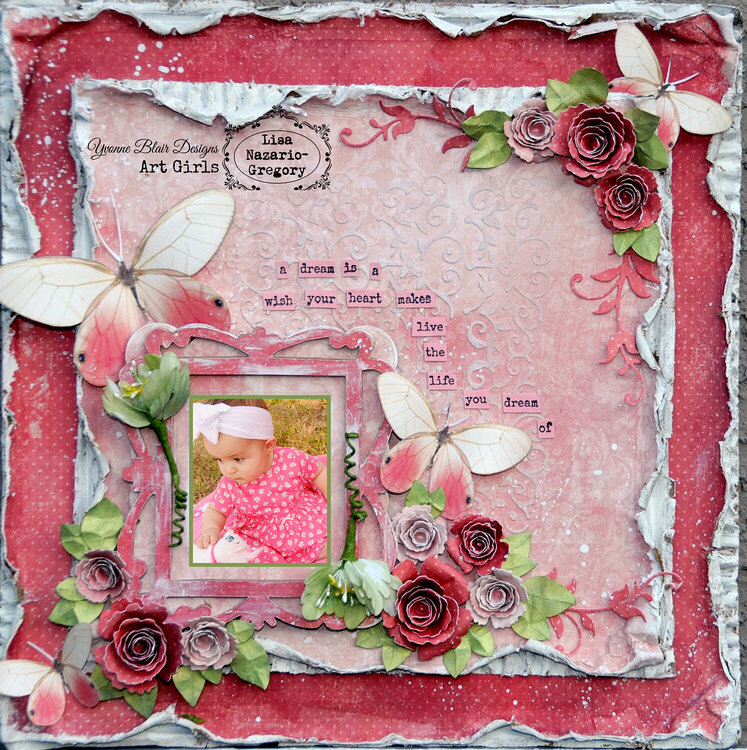Yvonne Blair Journal Buddy/ Art Girls DT