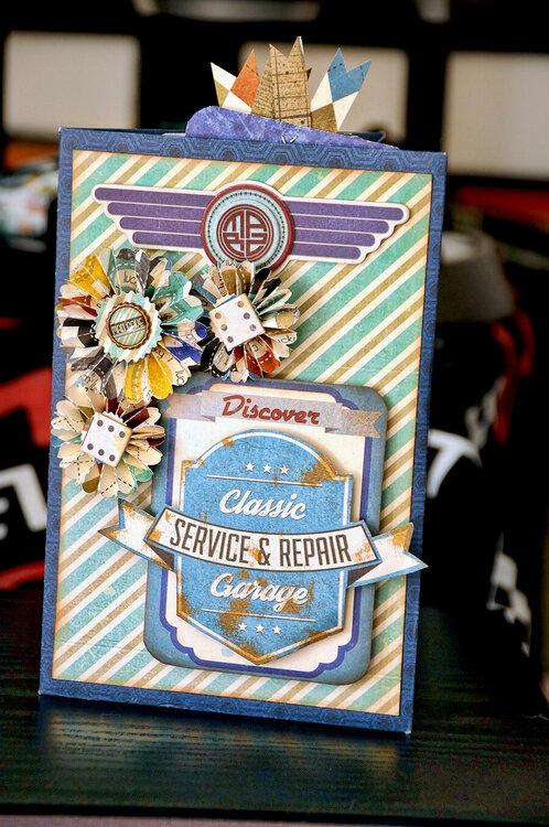 BoBunny Wild Card Mini Treasures mini Book