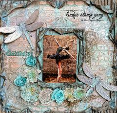 Dance*** Lindys Stamp Gang***