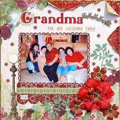 Grandma and her Christmas Elves