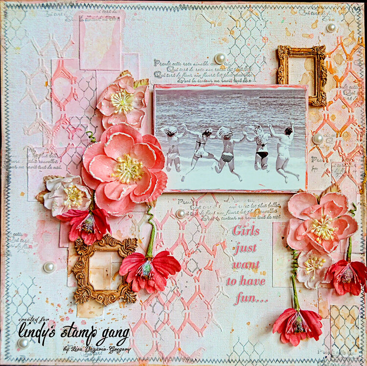 Lindys Stamp Gang**Girls just want to have fun**