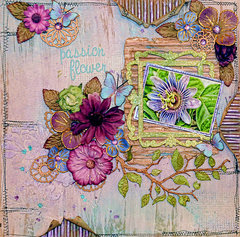 Passion Flower*** Blue Fern Studios***