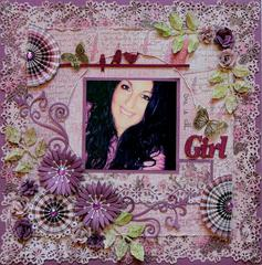 She Is All Girl***FabScraps**