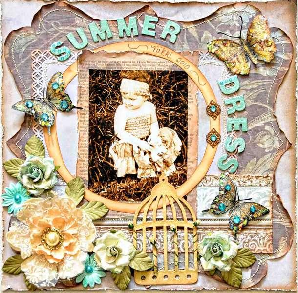 Summer Dress ****Swirlydoos****