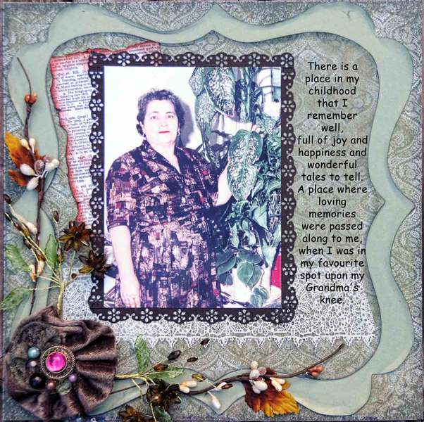 Upon my Grandmothers Knee
