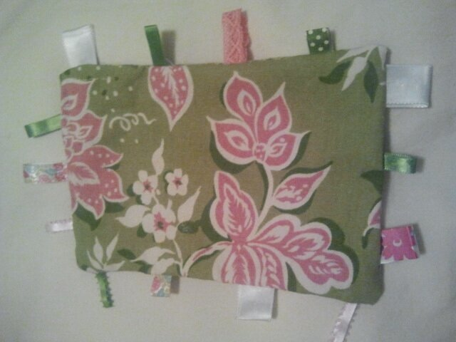 Front of My First Tag Blanket