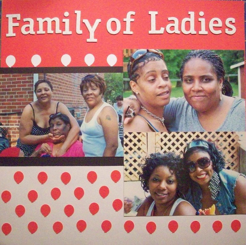 Family of Ladies & Family Guys (Left Side)