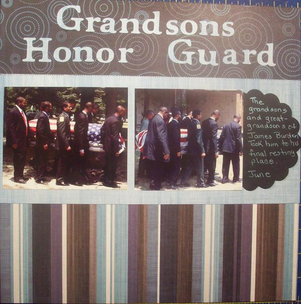 Grandsons Honor Guard