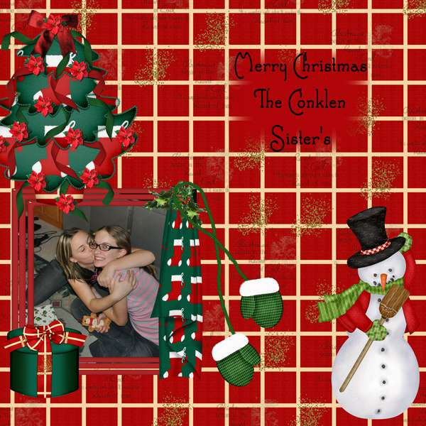 Conklen Sister's_Christmas Holiday Cheers