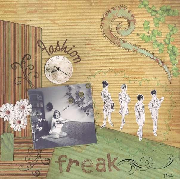 Fashion Freak - 60th birthday album page 7