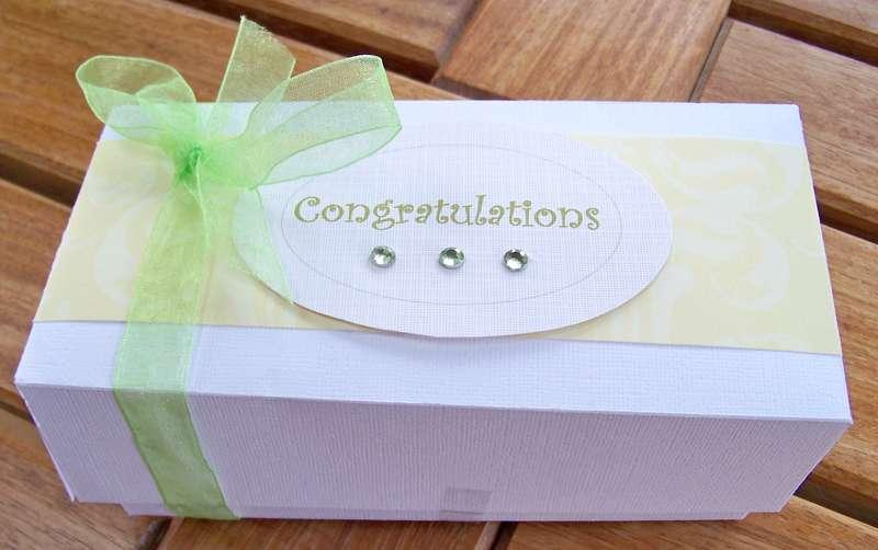 Wedding Shower gift box