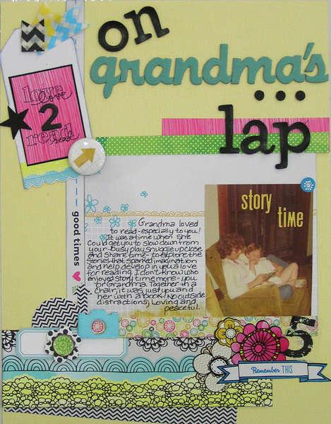 On Grandma's Lap