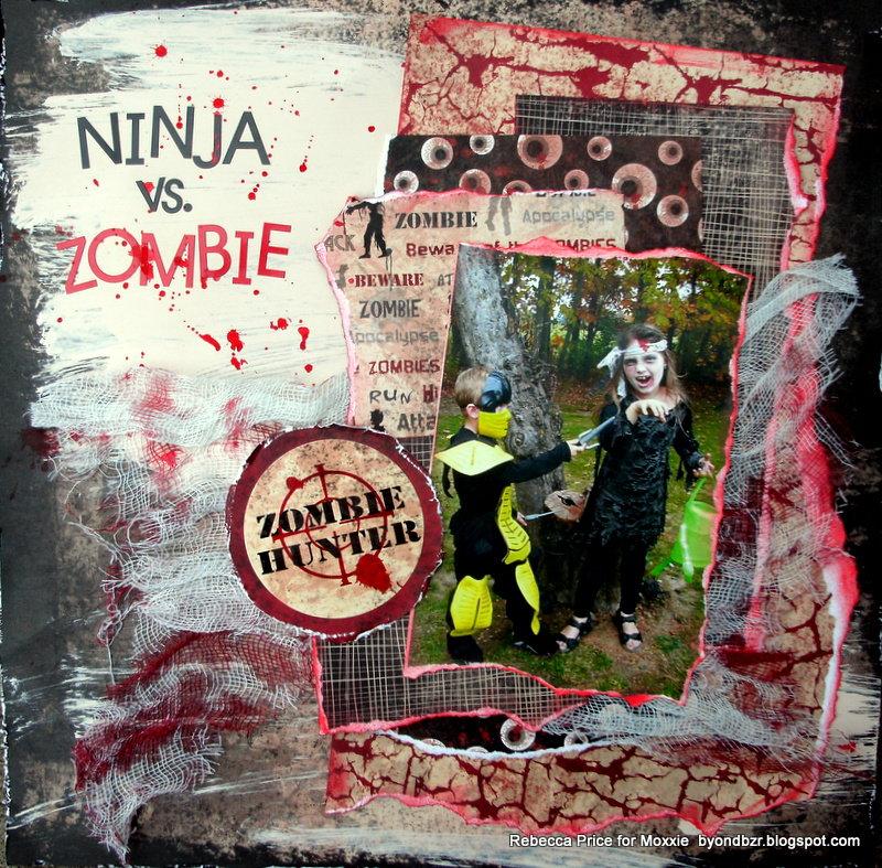Ninja vs. Zombie  **Moxxie**