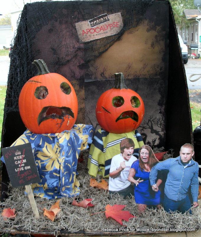 Zombie Apocalypse Pumpkin Carving   **Moxxie**