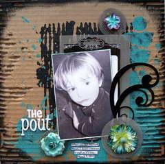 The pout