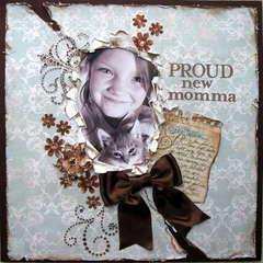 Proud new momma