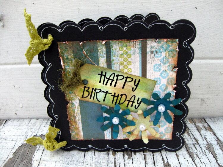 Happy Birthday display card