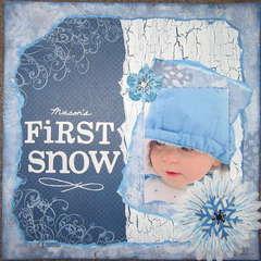 Mason's First Snow
