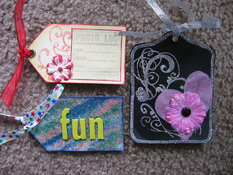 Tags for sugar coated swap