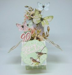 Fairy Garden Card in a Box