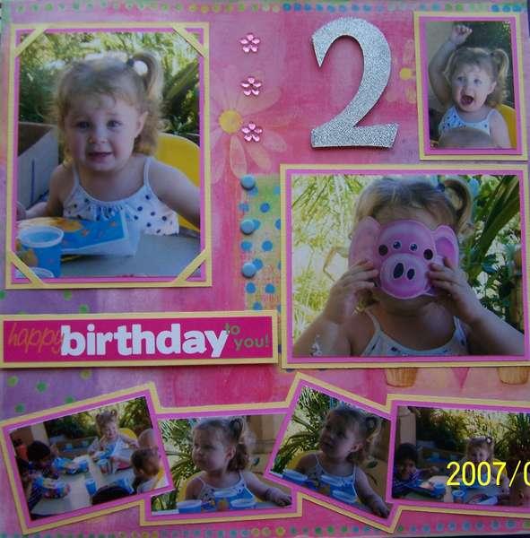 Jenna's 2nd Birthday