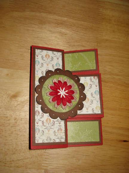 First Tri-fold (closed)