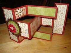 Tri Fold Card (open)