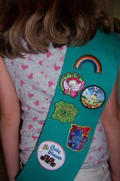 12. A Badge {AmandaTina}