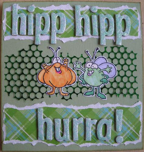 Hip hip hooray!! (monocromatic challenge)