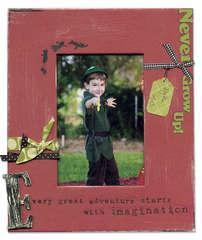 Never Grow Up Frame - Kris Gillespie