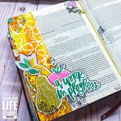 A Work in Progress - Bible Journaling