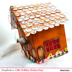 Little Holiday Gingerbread House