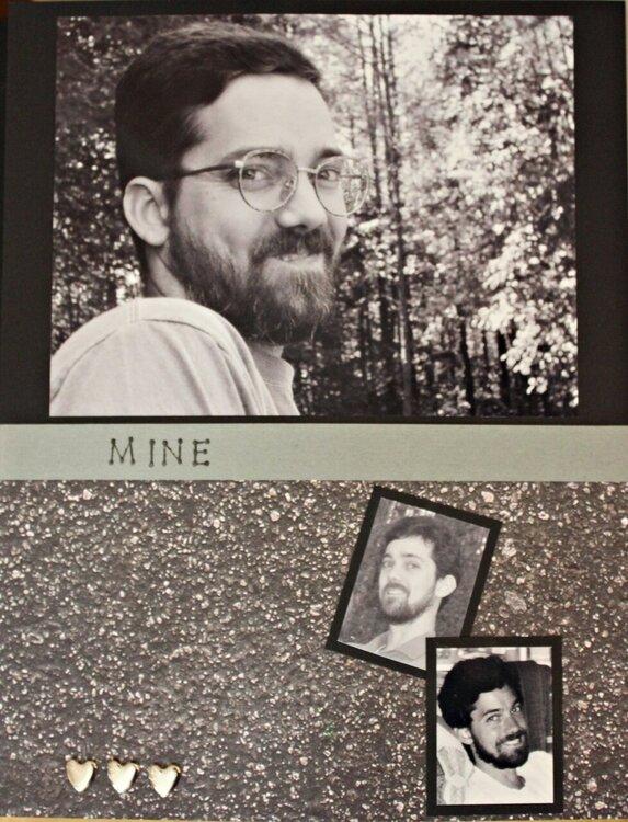 """Mine"" (left page)"