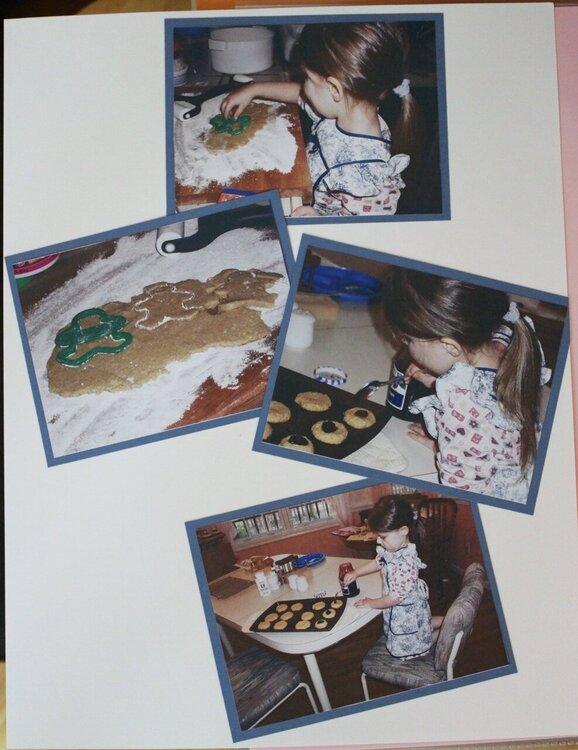 Purim Cookies (left)
