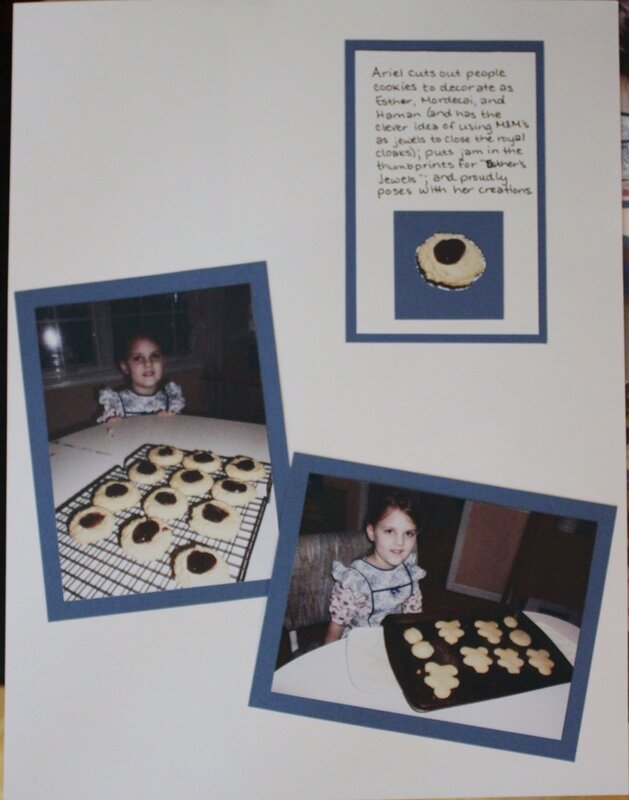 Purim Cookies (right)
