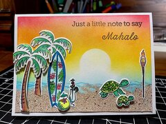 Mahalo card