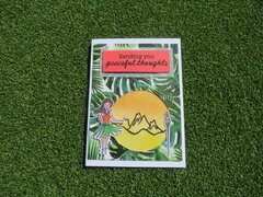 Peaceful thoughts card