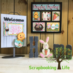 Happy Easter with Foundations Decor