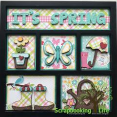 It's Spring Shadow Box