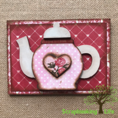 Valentines Shadowbox Kit from Foundations Decor